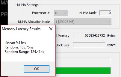 NUMA Memory Latency Remote Node