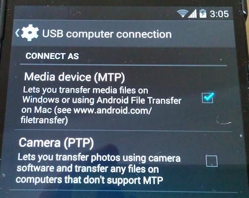 Nexus 5 can't connect to Win8 PC via USB  [Solved