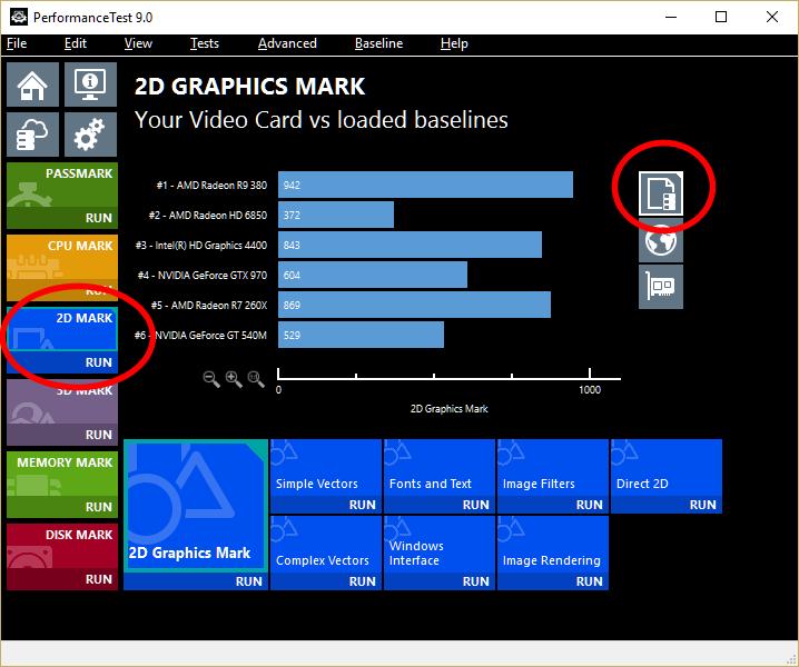 Need bar graphs like v8 - PassMark Support Forums