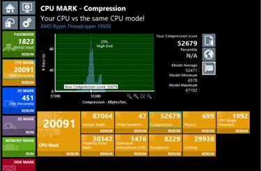 Screenshot of PerformanceTest