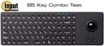 keyboard (85 key combo) with trackball