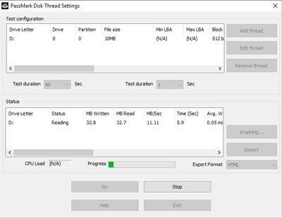 Advanced Disk Test - Hard drive benchmark